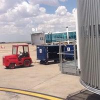 Photo taken at Rick Husband Amarillo International Airport (AMA) by Zulma C. on 8/5/2011
