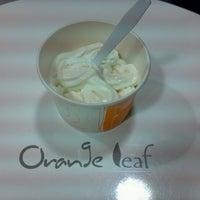 Photo taken at Orange Leaf Frozen Yogurt by wjcollier3 on 11/18/2011