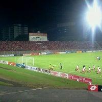 Photo taken at Stadium Sultan Muhammad IV by haslan h. on 3/27/2012