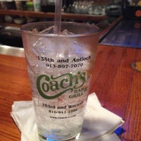 Photo taken at Coach's Bar & Grill by David P. on 5/11/2012