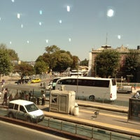 Photo taken at Sirkeci Tramvay Durağı by Ali Cem on 8/22/2012