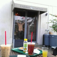 Photo taken at Caribou Coffee by Levent T. on 1/7/2012