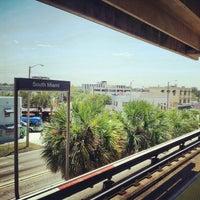 Photo taken at MDT Metrorail - South Miami Station by Oscar M. on 8/14/2012