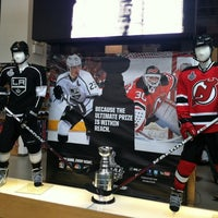 Photo taken at NHL Store Powered by Reebok by Becca💚 on 6/2/2012