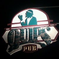 Photo taken at Quips Pub by Stephen S. on 1/10/2012