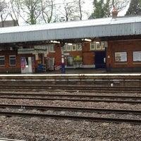 Photo taken at Hitchin Railway Station (HIT) by Alan H. on 4/29/2012