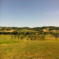 Photo taken at Golf Campo Pratica by Vizio on 6/8/2012