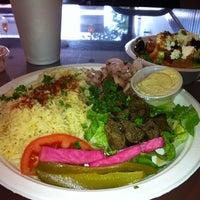 Photo taken at King Tut Mediterranean Grill by Ashli on 8/27/2012