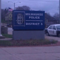 Photo taken at Milwaukee Police Station #5 by Kay D. on 11/29/2011
