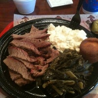 Photo taken at Full Moon BBQ by Rick G. on 10/1/2011