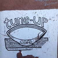 Photo taken at Tune-Up Cafe by Shari S. on 7/3/2012
