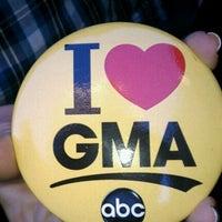 Photo taken at Good Morning America Studios by Felicia J. on 10/7/2011