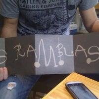 Photo taken at Las Ramblas by Aggelos B. on 9/21/2011
