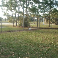 Photo taken at Estero Community Park Dog Run by Hank A. on 2/1/2012
