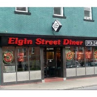 Photo taken at Elgin Street Diner by Adam F. on 1/26/2012