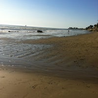 Photo taken at Isla Vista Beach by Jason B. on 12/10/2011