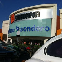 Photo taken at Plaza Sendero by Greys V. on 12/30/2011