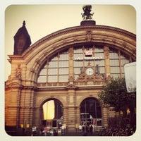 Photo taken at Frankfurt (Main) Hauptbahnhof by Sandi on 7/27/2012