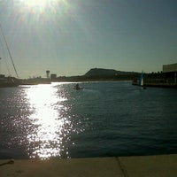 Photo taken at Escuela Nautica Port Olimpic De Barcelona by Marta P. on 2/4/2012