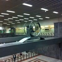 Photo taken at Syntagma Metro Station by Κωνσταντινα on 2/21/2012