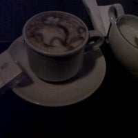 Photo taken at Frappio Coffeehouse and Ice Cream by Tegar H. on 3/8/2012