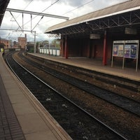 Photo taken at Deansgate Railway Station (DGT) by Jack H. on 4/21/2012