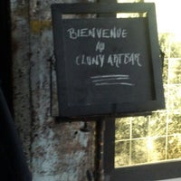 Photo taken at Cluny ArtBar by Jean J. on 3/29/2012