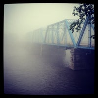 Photo taken at Blue Bridge by Chadwick R. on 5/8/2012
