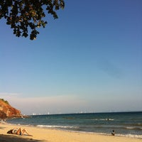 Photo taken at Nual Beach by Iam N. on 3/17/2012