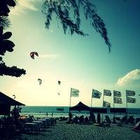Photo taken at Nai Yang Beach by Jong S. on 8/3/2012