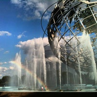 Photo taken at The Unisphere by Alex F. on 8/13/2012