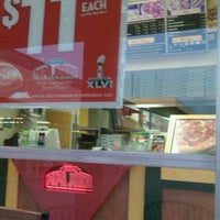 Photo taken at Papa John's Pizza by vennae P. on 3/6/2012