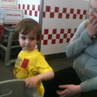 Photo taken at Five Guys by Tammy W. on 4/29/2012