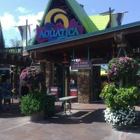Photo taken at Aquatica Orlando by Elfren G. on 3/15/2012