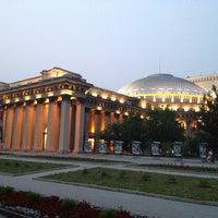 Photo taken at Новосибирский государственный академический театр оперы и балета by Victor T. on 7/5/2012