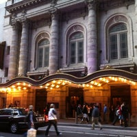Photo taken at Lyceum Theatre by Sarah B. on 3/13/2012