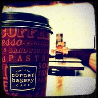 Photo taken at Corner Bakery Cafe by Brian H. on 4/5/2012
