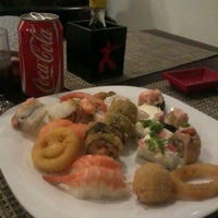 Photo taken at Katana Sushi & Massas by Camila B. on 5/12/2012