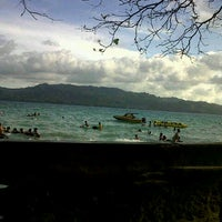 Photo taken at Pantai Natsepa by Dwi A. on 9/2/2012