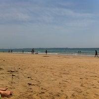 Photo taken at Playa de Fuentebravía by David R. on 5/30/2012