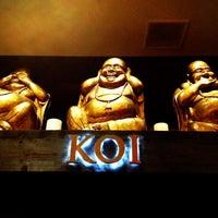Photo taken at Koi Restaurant by Brian W. on 5/13/2012
