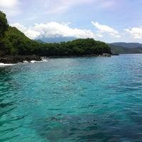 Photo taken at Pelabuhan Padang Bai by RIZAMI ICHWAN L. on 2/17/2012