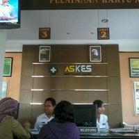 Photo taken at Kantor PT Askes by Gatra S. on 9/3/2012