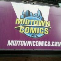 Photo taken at Midtown Comics by Paul P. on 6/5/2012