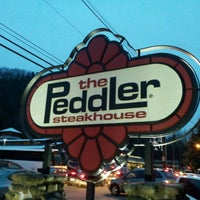 Photo taken at The Peddler Steakhouse by Matthew S. on 2/18/2012