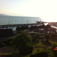 Photo taken at Hostellerie Bon Rivage by Panos M. on 5/29/2012