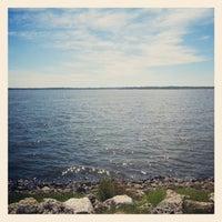 Photo taken at Lake Conroe by Vy N. on 9/9/2012