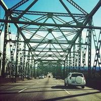 Photo taken at Interstate Bridge by Anna B. on 6/27/2012
