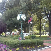Photo taken at Collierville Town Square / Confederate Park by ~Roni~ on 5/29/2012