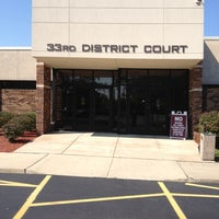 Photo taken at 33rd District Court by Brian J. P. on 8/30/2012
